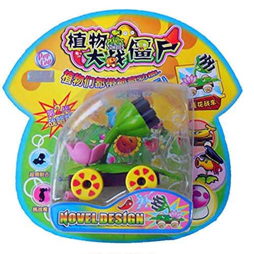 E.a@market Plants Vs Zombies PVC Toys (Lotus chariots)
