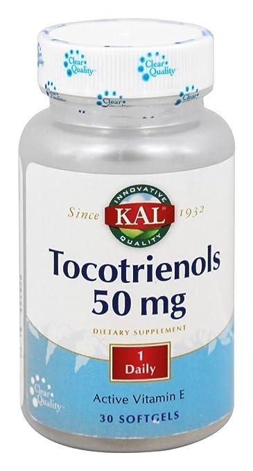 Kal Tocotrienols -- 50 mg - 30 Softgels