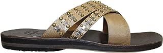 product image for Calleen Cordero womens Rasha Slide Sandal Champange 6, 7, 10