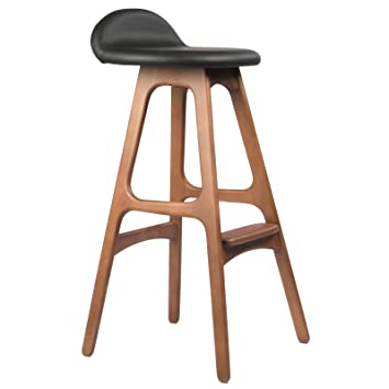 Amazon Erik Buch OD Mobler Inspired Teak Bar Stool Home