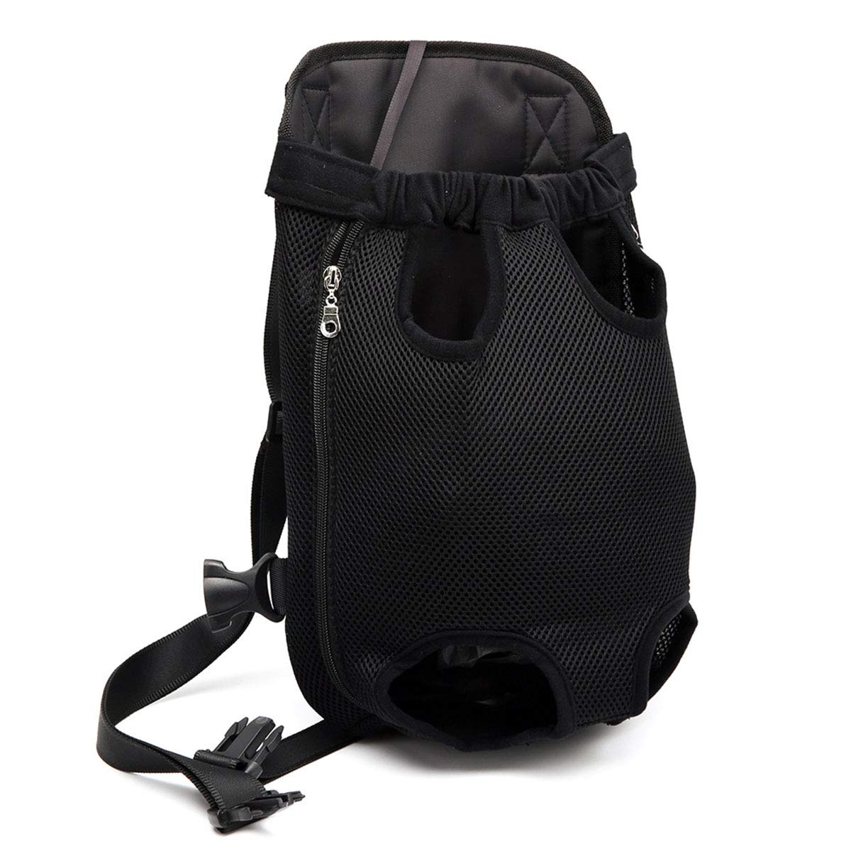 M black M black Pet Carrier,Legs Out Front-Facing Dog Carrier Backpack Hands Free Adjustable Pet Dog Backpack Carrier for Walking Hiking Bike and Motorcycle,M,Black