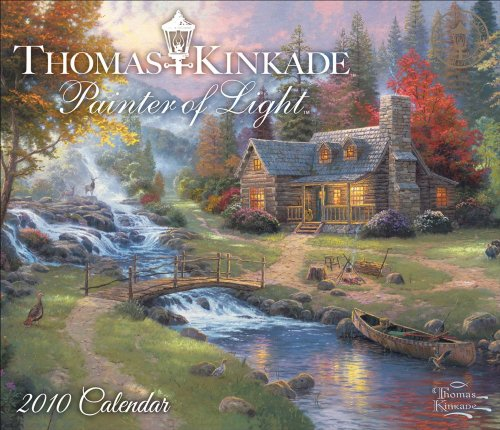 Thomas Kinkade Painter of Light: 2010 Day-to-Day Calendar