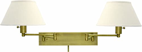 House Of Troy WS14-2-71 Home/Office Collection Double Wall Sconce Swing
