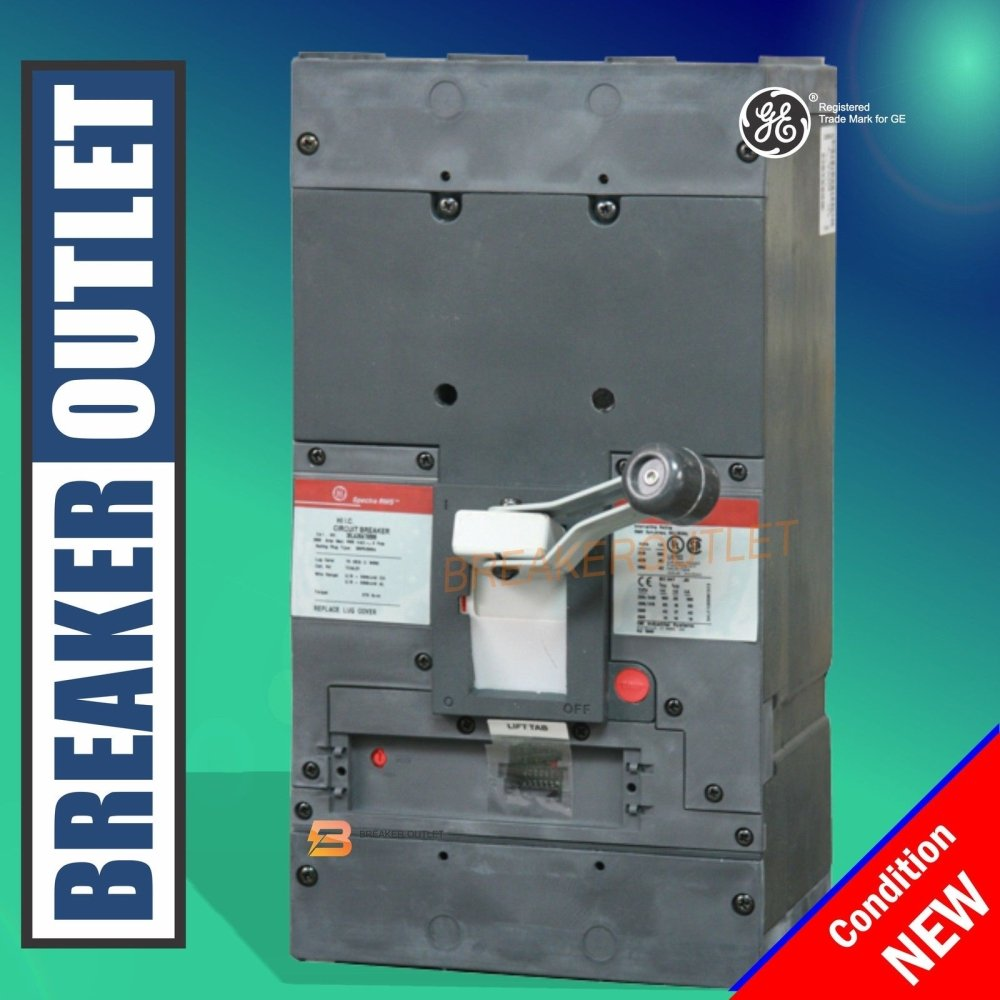 New General Electric Ge Skla36at0800 Circuit Breaker 3 Pole 800a Obsolete Fuse Box 600v Spectra