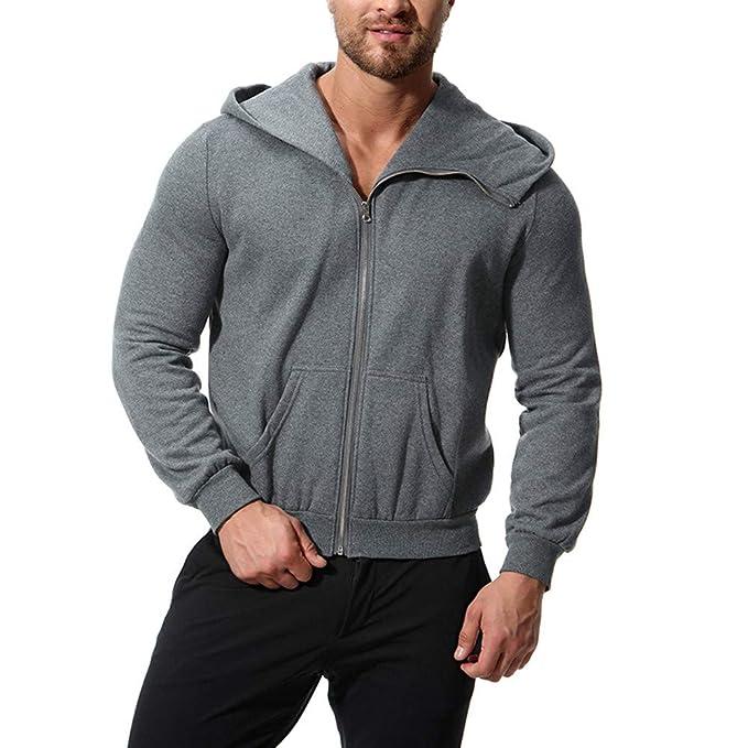 Otoño Invierno Casual Manga Larga sólido con Capucha Sweatershirt Blusa  Superior por Internet  Amazon.es  Ropa y accesorios a87adb996f017