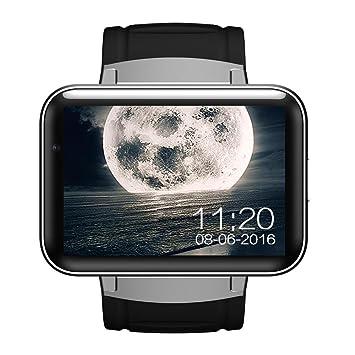 HRT® DM98 Bluetooth Smart Watch 2.2 pouces Android OS 3G Smartwatch Téléphone MTK6572 Dual Core