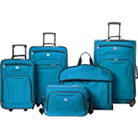 American Tourister Wakefield 5-Piece Luggage Set (Teal Blue)