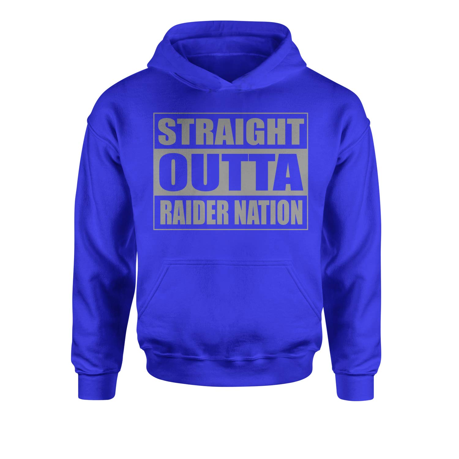 Expression Tees Straight Outta Raider Nation Youth-Sized Hoodie