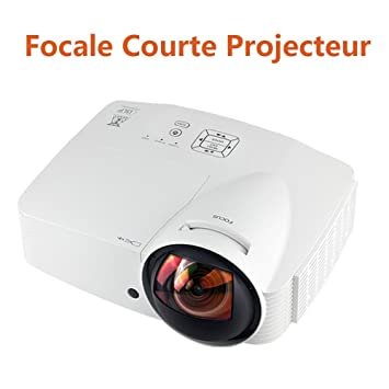 Ultra distancia focal corta (Proyector 1080p 3d home cine ...