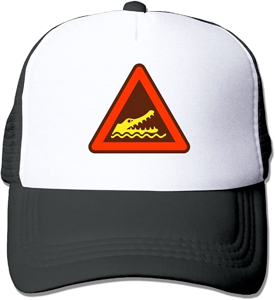 Warning Sign Low Profile Baseball Caps For Men Fashionable Great For Activities Climbing Sunmmer Hats