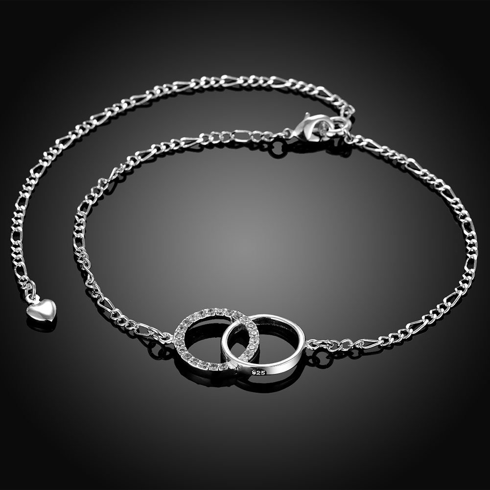 JTKJMM Foot Jewelry Silver Gold Plated Butterfly Ring Life Tree Angel Wings Love Styles Chain Bracelets Charming Adjustable Anklets for Womens Girls LOYUER B07F7XYVFM/_US