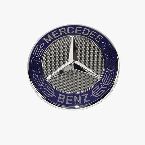 Mercedes Benz Symbol >> Mercedes Benz Hood Star Emblem Badge Genuine Original 2048170616