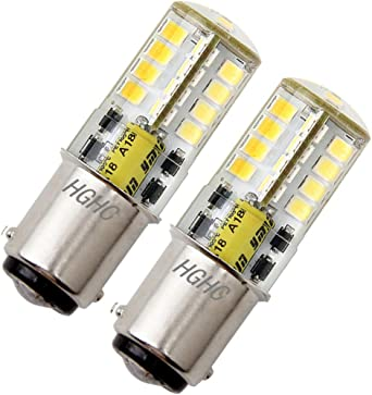 Ba15d LED Lámpara 5W AC/DC 12V, Equivalente 35W, 500LM SBC ...