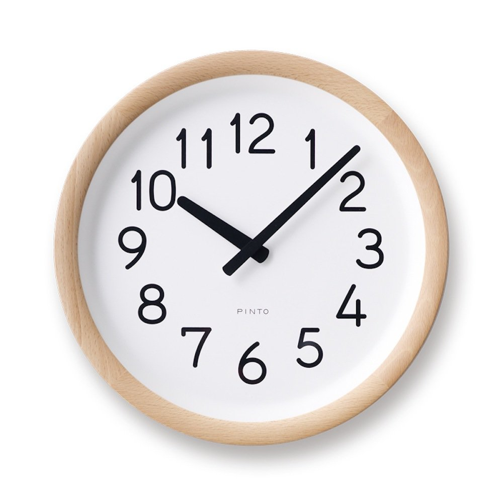 Lemnos Day To Day Clock ナチュラル PIL12-10 NT B00EH3RNQ0 ナチュラル ナチュラル