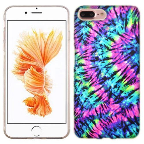 size 40 fb006 d4cbd Amazon.com: Apple iPhone 7 PLUS Case, Tie Dye Cover for Apple iPhone ...