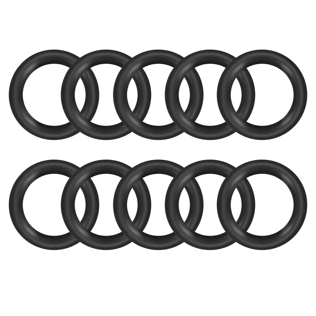 30mm OD 22mm Inner Diameter Round Seal Gasket Pack of 10 uxcell O-Rings Nitrile Rubber 4mm Width