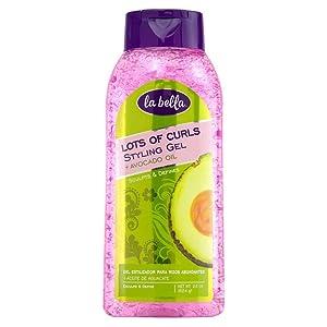 La Bella Lots Of Curls Styling Gel + Avocado Oil 22oz