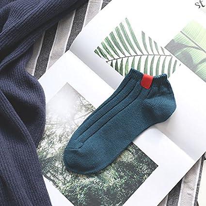 Socke Frau Vier Jahreszeiten Student Sommer Baumwolle Kreative Streifen Frühjahr/Sommer College Wind 5 Paaren. 2 Excellent Product