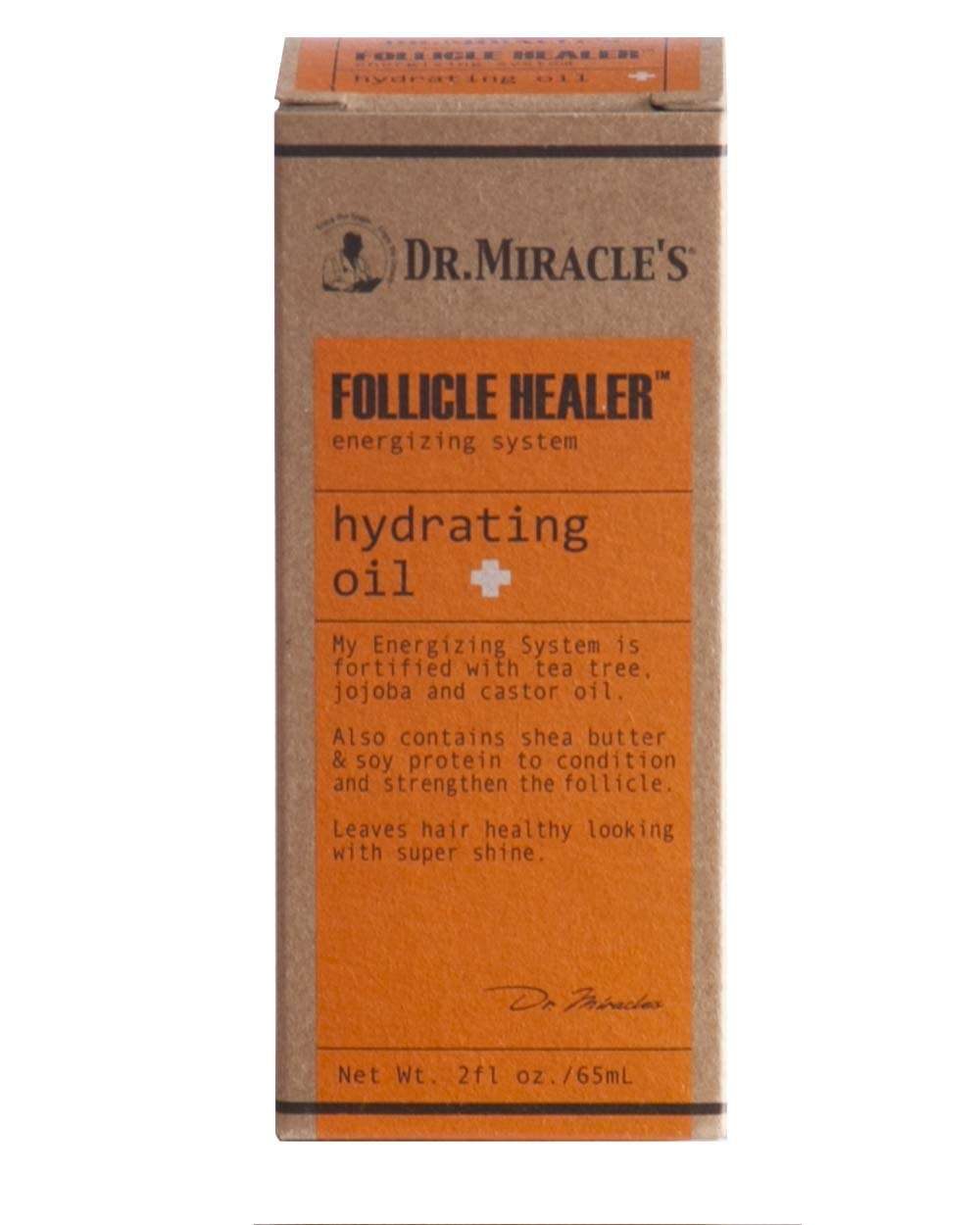 Dr. Miracles Follicle Healer Hydrating Oil 2oz (2 Pack)