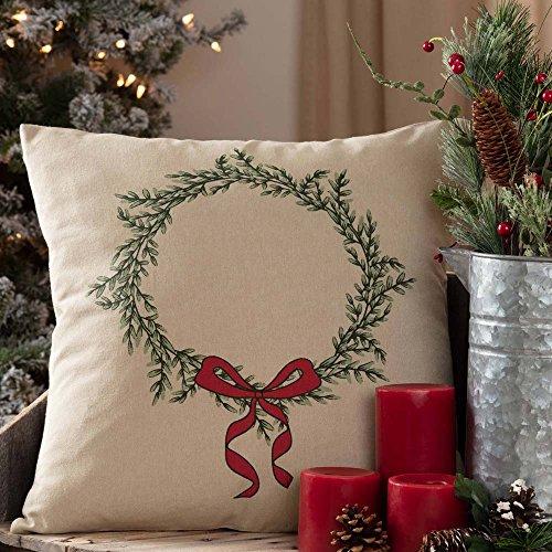 Piper Classics Winter Tidings Throw Pillow Cover, 18