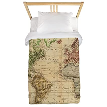 Amazon.com: CafePress Vintage Map of The World (1831) Twin ...