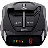 Cobra RAD 380 Laser Radar Detector – Long Range Detection, LaserEye Front and Rear Detection, IVT Filtering, Updateable Softw