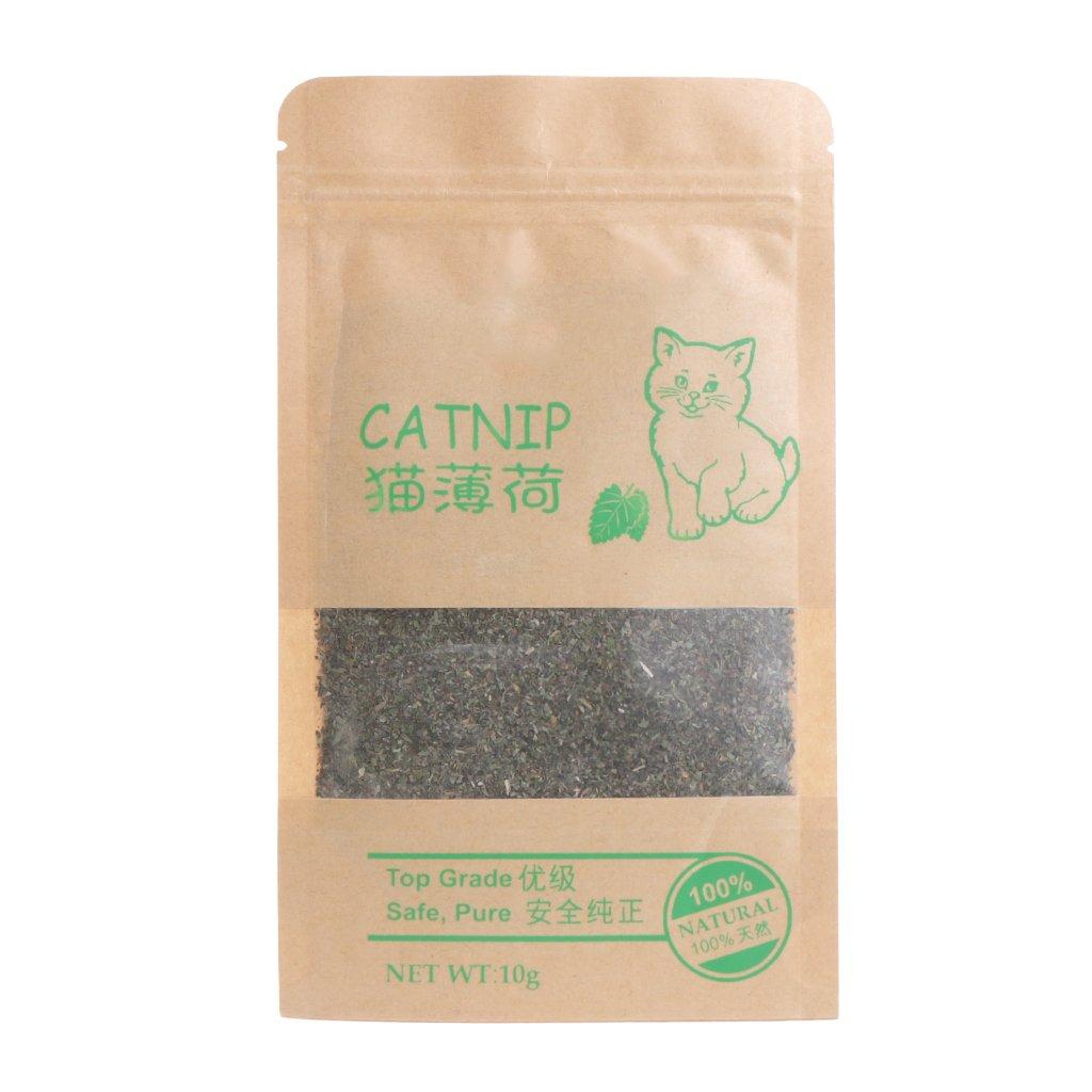 Lunji Premium Natural Catnip para gato gatito, 10 g