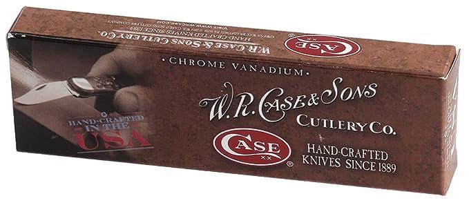Case Cutlery CA00038 Cuchillo Tascabile,Unisex - Adulto, Amarillo, un tamaño: Amazon.es: Deportes y aire libre