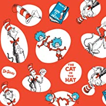 Dr Seuss Party Supplies - Jumbo Gift Wrap