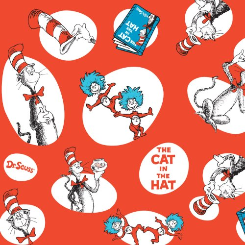 Dr Seuss Paper (Dr Seuss Party Supplies - Jumbo Gift)