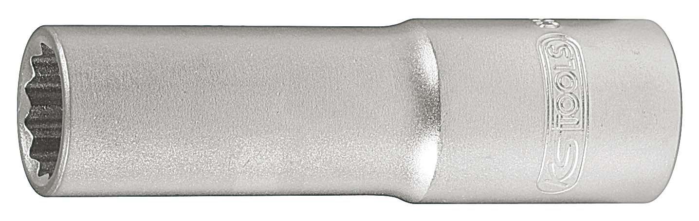 KS Tools 911.3990-E - Llave de vaso para bujías (3/8