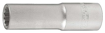 """KS Tools 911.3990-E - Llave de vaso para bujías (3/8"""""""