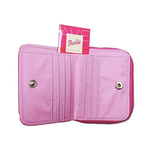 Amazon.com: Barbie portafolios con cierre: Clothing