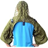 Tactical Sniper Top Ghillie Base Airsoft Hunting Ghillie Suit Foundation Available in 4 Colors