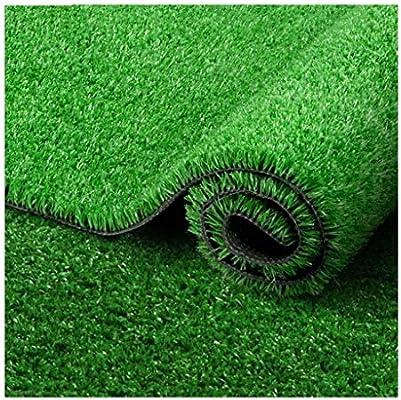 YNFNGXU Césped Artificial para césped Altura de Pila de 20 mm, Césped Falso cifrado Jardín Realista Natural Balcón para Perros (2 mx1 m) (Color : Summer Grass, Size : 2x7.5m): Amazon.es: Hogar