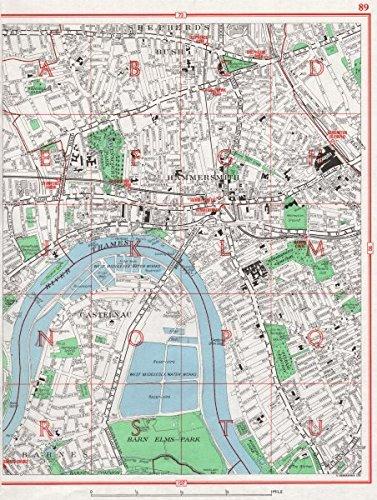 Amazon Com Hammersmith Barnes Shepherd S Bush Fulham Castelnau