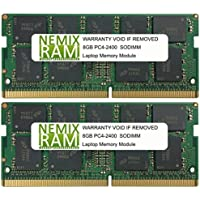 16GB (2 X 8GB) DDR4-2400MHz PC4-19200 SODIMM for Apple iMac 27 2017 Intel Core i5 Quad-Core 3.4GHz MNED2LL/A (iMac 2718,3 Retina 5K Display)