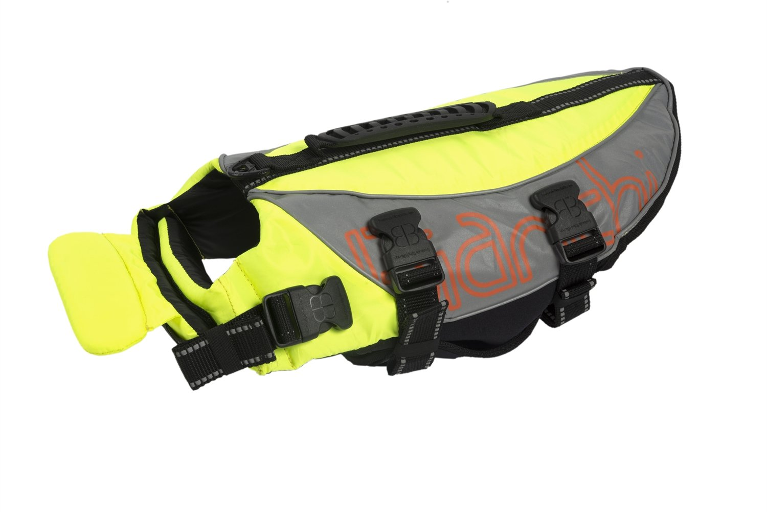Petego Salty Dog Pet Life Vest, X-Large, Fits Girth 42 to 52-Inch, Yellow