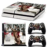 Ps4 Playstation 4 Console Skin Decal Sticker The Walking Dead Design + 2 Controller Skins Set