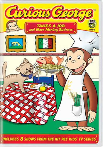 Curious George: Takes a Job and More Monkey - Grand Macys Rapids