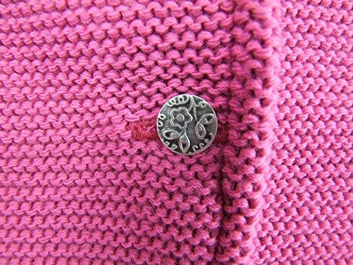def870c01e Strickjacke Jenny mit Hirschstickerei Pink - Wunderschöne Trachtenjacke für  Mädchen zu Oktoberfest, Kirchweih oder Ausflug: Amazon.de: Bekleidung