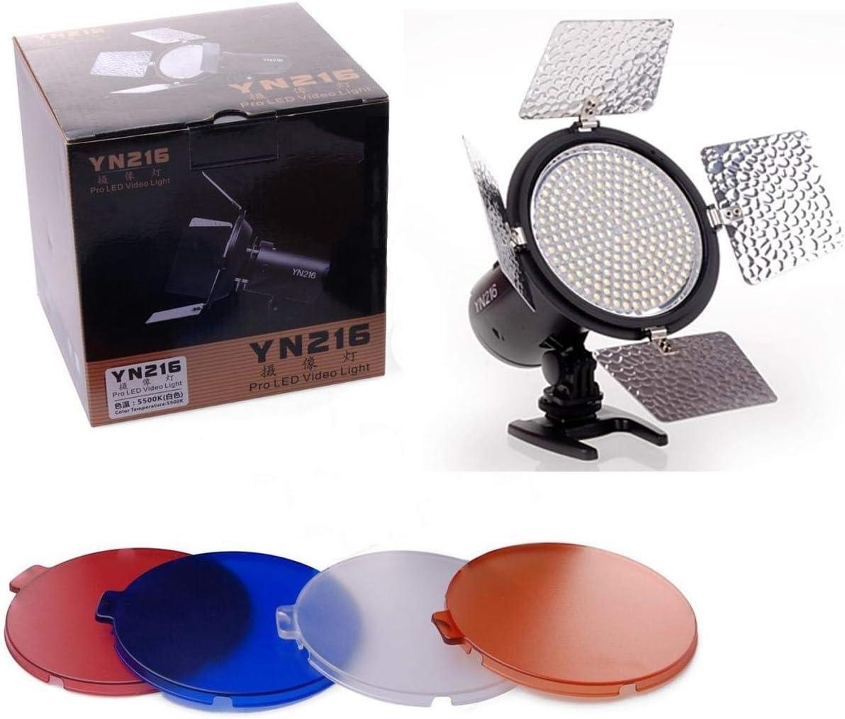 Yongnuo YN216 Pro LED Video Light 5500K for DSLR Camcorder