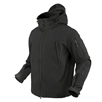 Amazoncom Condor Summit Soft Shell Tactical Jacket Color Black