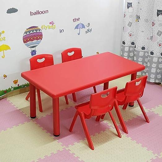 Juego de mesa y silla para niños, muebles para niños para lectura ...