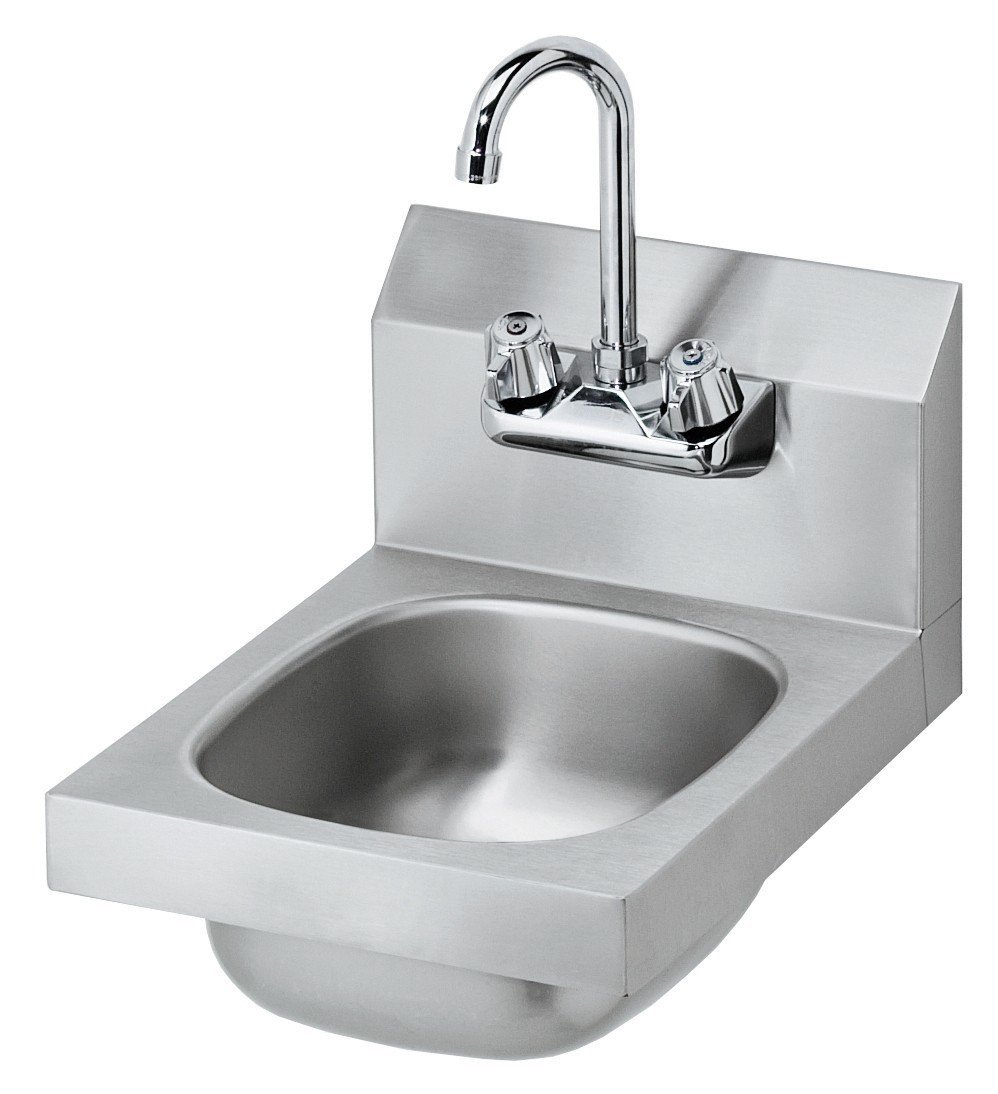 Stainless Steel NSF Hand Sink 10'' X 14'' by L&J Import