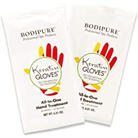 BODIPURE KERATIN GLOVES , All In One Hand Treatment (13 PACK)