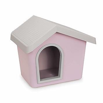 Caseta para perro Zeus de perro 50 x 46 x 47 53 techo sistema drenante amovible: Amazon.es: Hogar