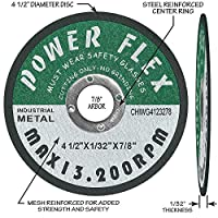 "50 PACK - Cut Off Wheels 4 1/2 "" x 7/8"" - For Cutting All Ferrous Metals and Steel"