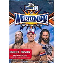 2017 Topps WWE Road to Wrestlemania EXCLUSIVE Factory Sealed Retail Box with RELIC Card! Look for Cards, Relics & Autographs of WWE Superstars including Jon Cena, Sting, Ric Flair & More! Wowzzer!