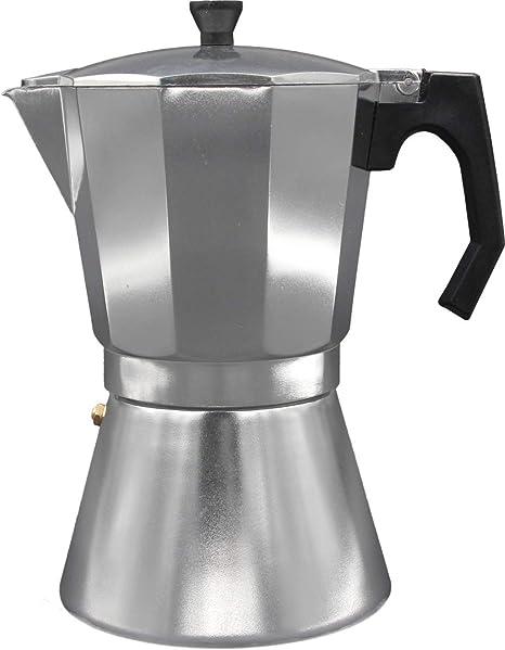 Bastilipo 6350 Cafetera Italiana Induccion, Aluminio, Plata: Amazon.es: Hogar